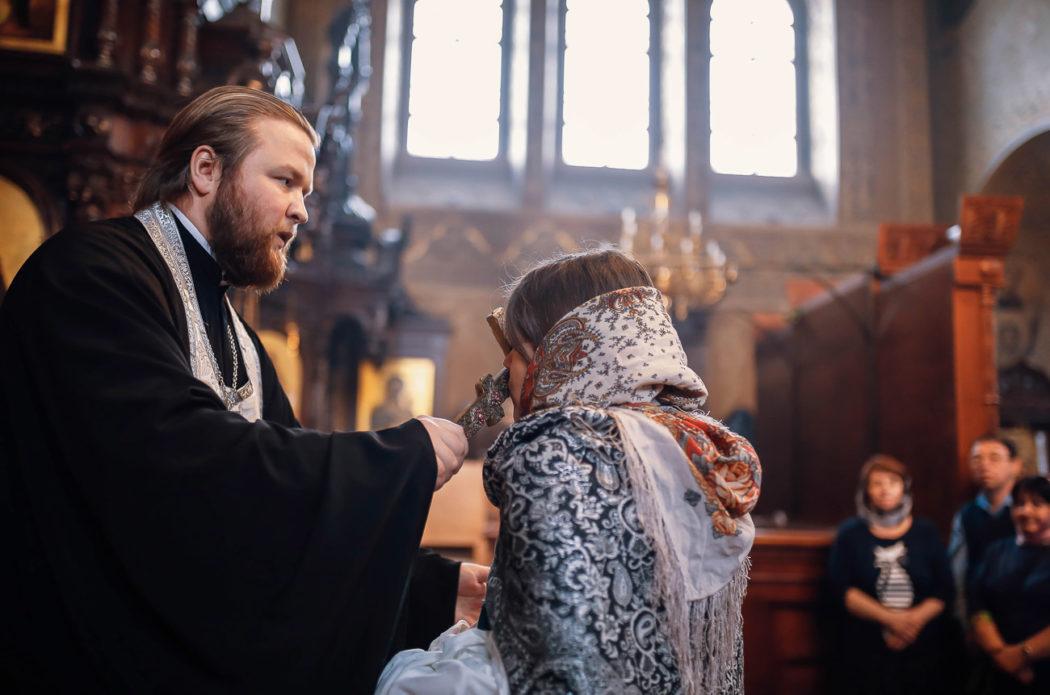 съемка крещение